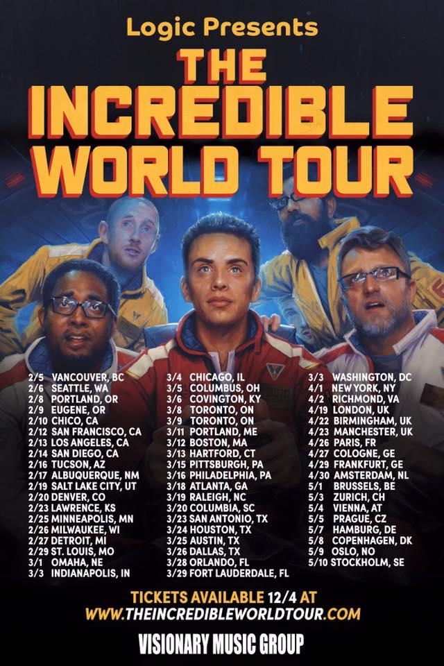 Logic California Tour Dates