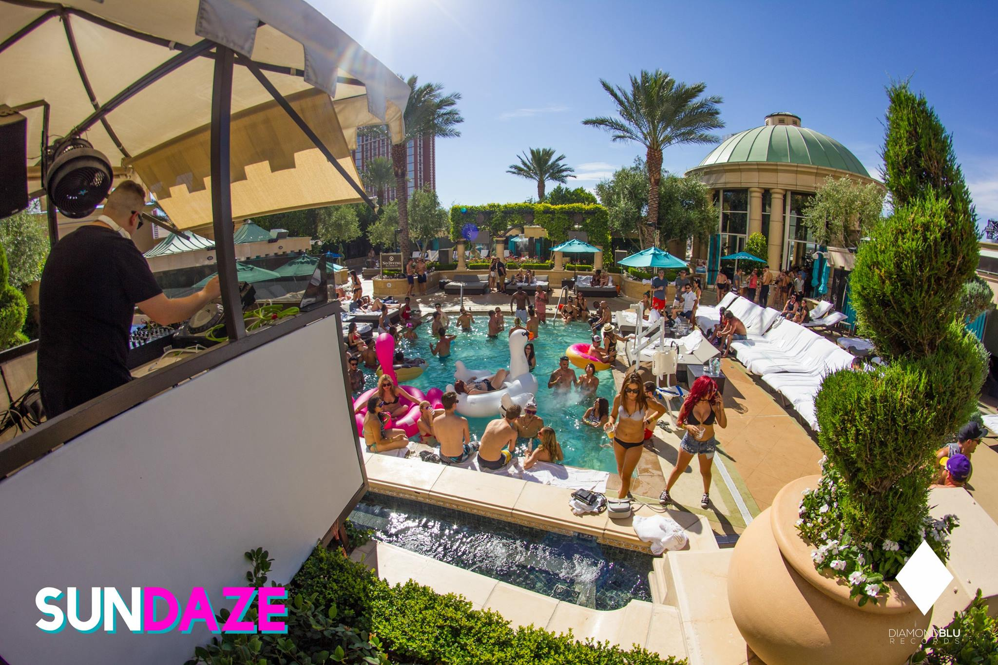 Meet Sundaze The Vegas Strip S Newest Daytime House Party