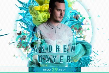 Andrew Bayer at The Observatory OC Friday, July 29th