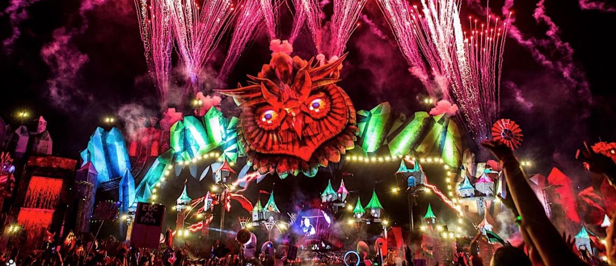 EDC Las Vegas Set Times Festival Map Announced - Edc las vegas map 2016