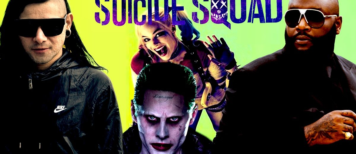 Skrillex And Rick Ross Share New Suicide Squad Theme Song Purple