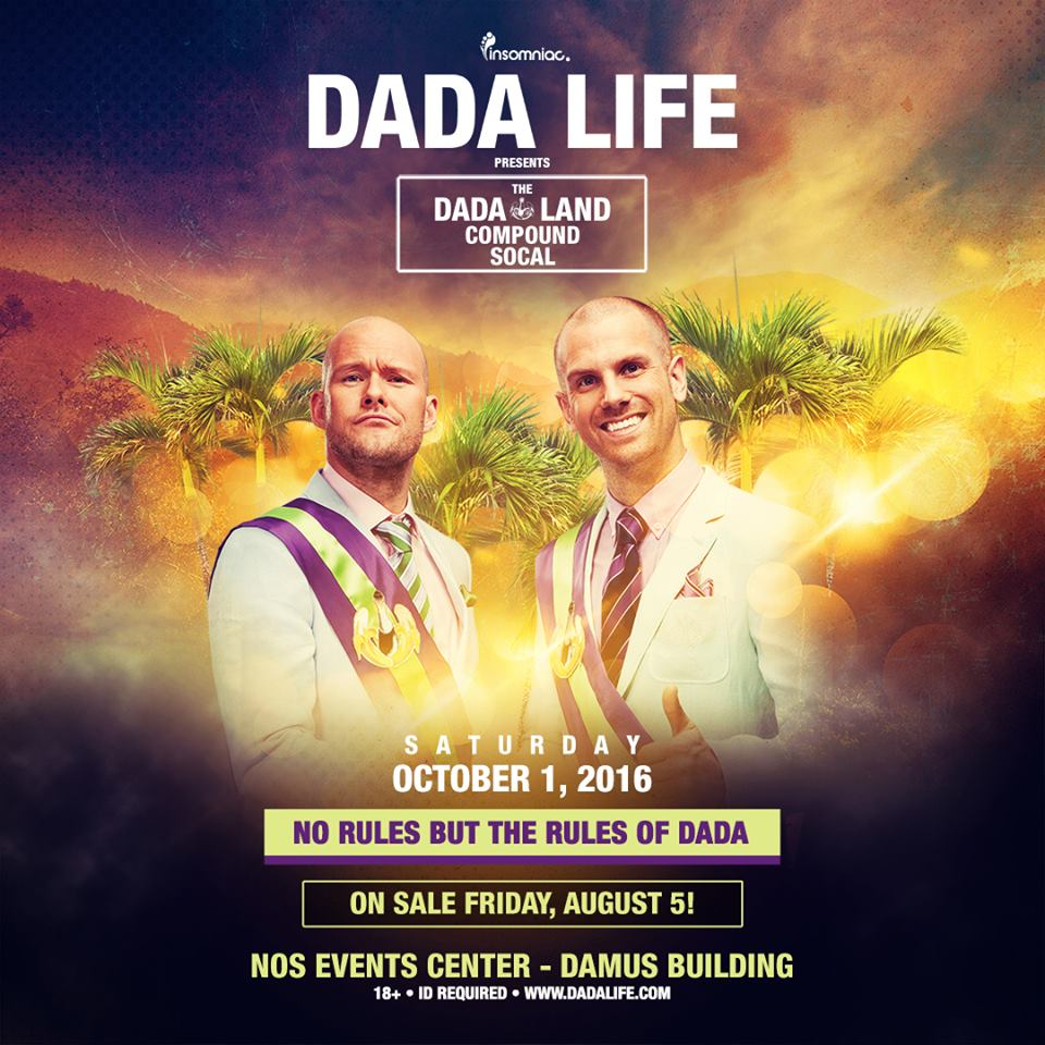 Dada Life's Dada Land Compound At The NOS Events Center