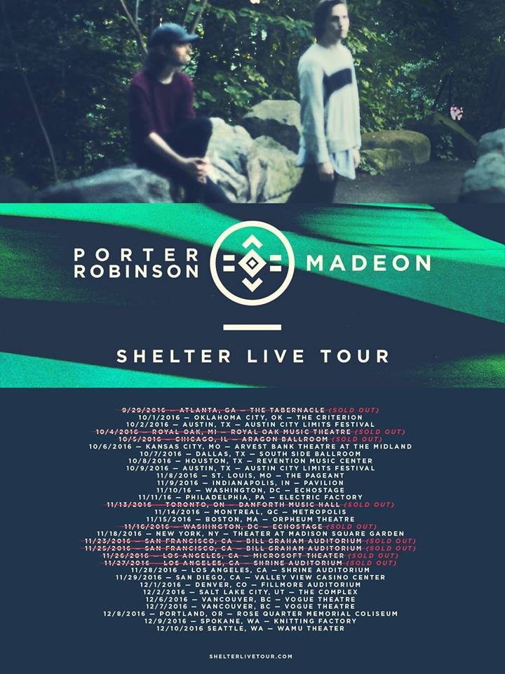 Madeon tour dates in Wellington