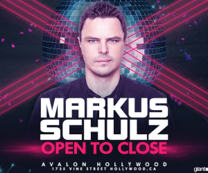 Markus Schulz Open to Close Set Avalon Hollywood NYE 2017