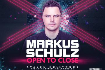 Markus Schulz Open to Close Set Avalon Hollywood NYE 2017