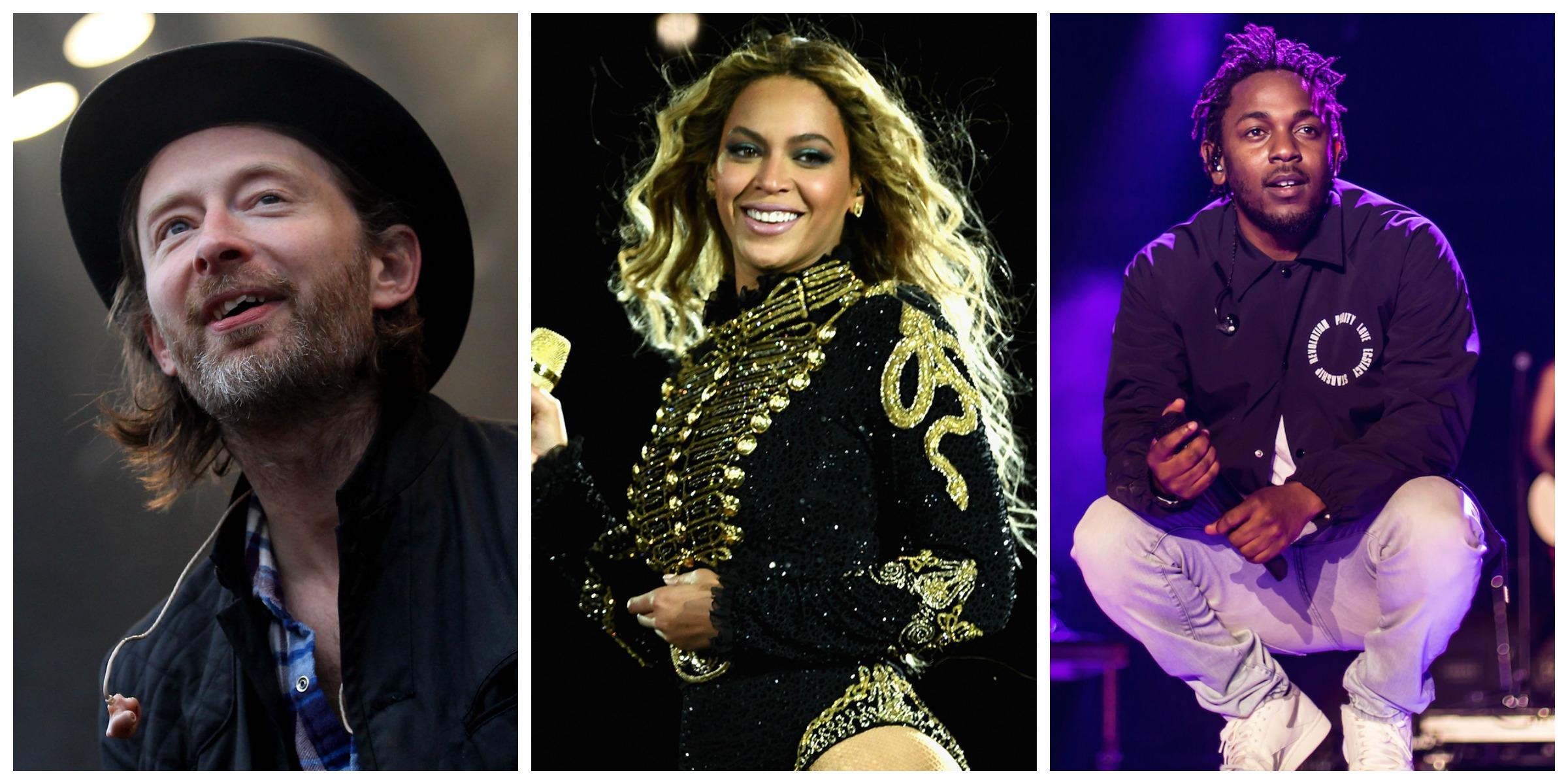 Radiohead, Beyoncé, and Kendrick Lamar To Headline ...