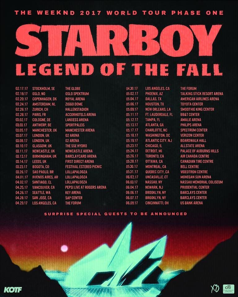 Madness Tour The Weeknd Setlist