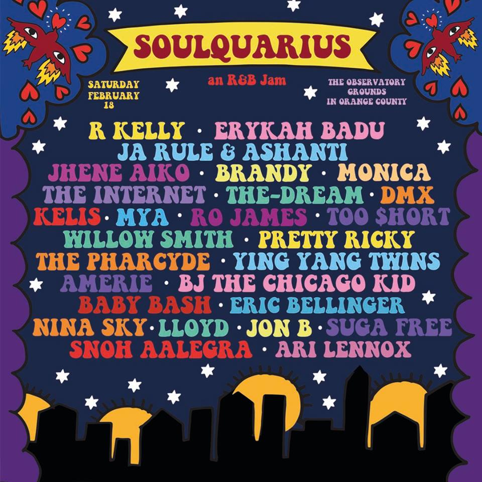 Soulquarius at The Observatory OC Grounds Sat. Feb 18th