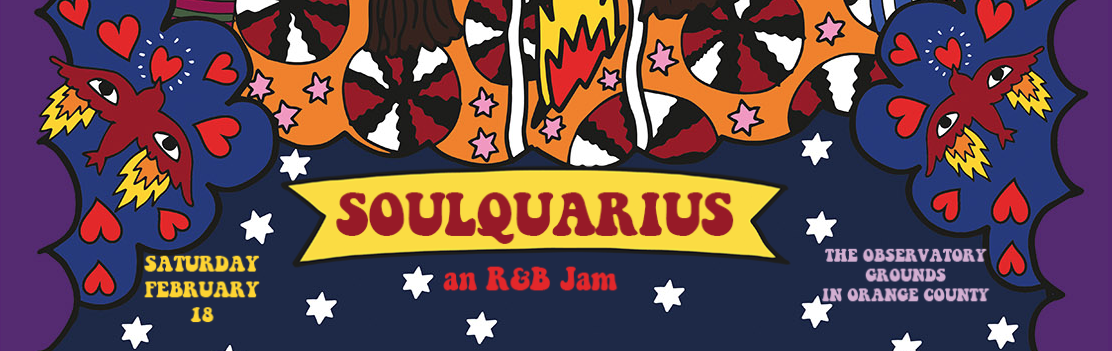 Soulquarius at The Observatory OC Grounds Sat. Feb 18th 2017