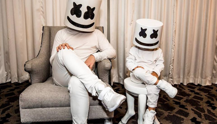 Watch as marshmello surprises the cutest die hard 3 year old fan watch as marshmello surprises the cutest die hard 3 year old fan video stopboris Gallery