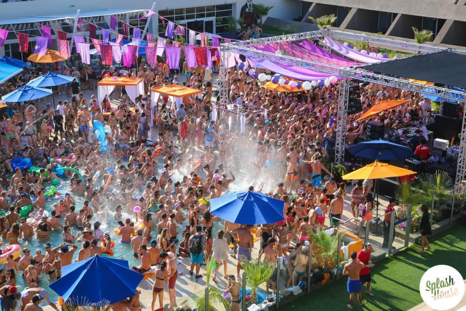 Vegas Calendar June : Splash house announces lineup for palm springs poolside