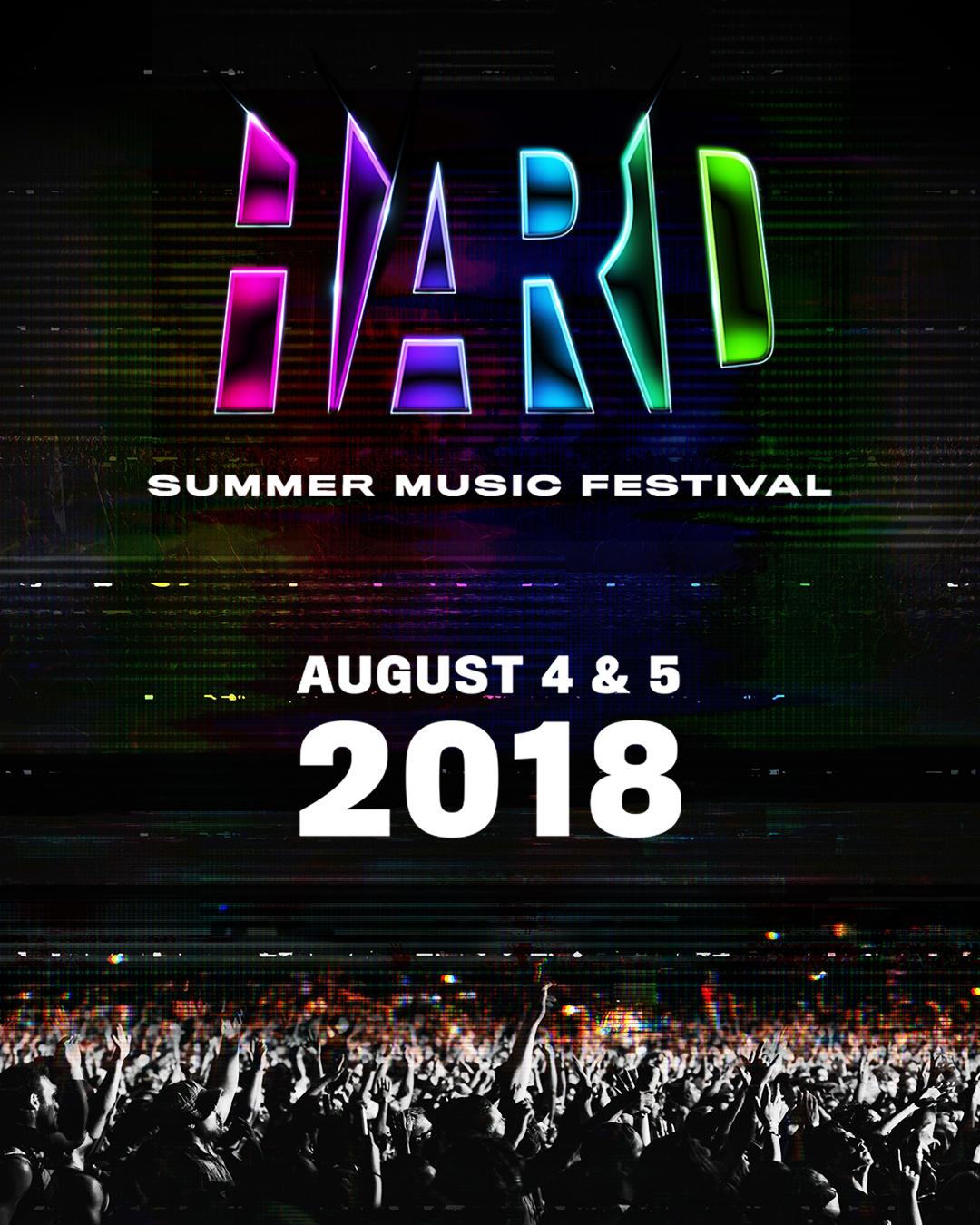 Hard Summer Single Hour Tickets 2018