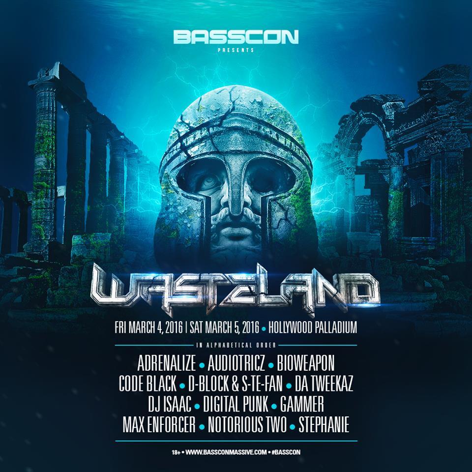 Basscon Wasteland 2016