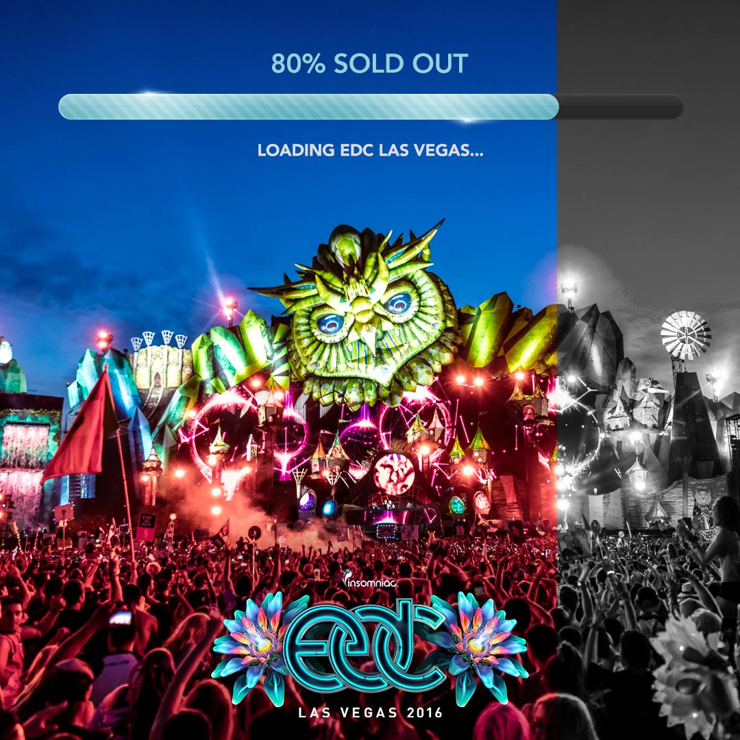 EDC Las Vegas 2016_80 Sold Out