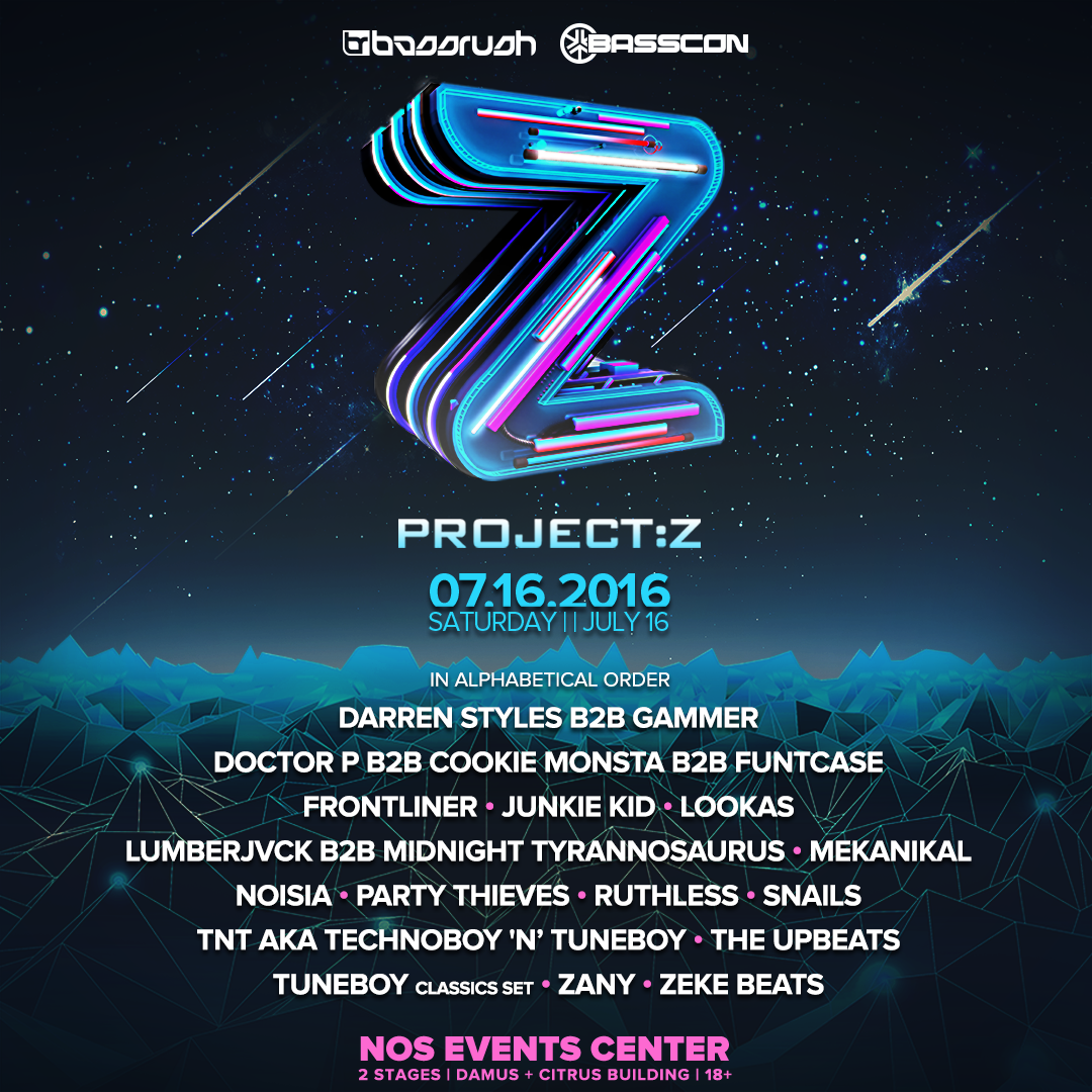 Project_Z Lineup