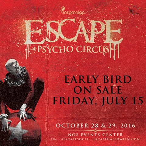 Escape SoCal 2016 Tickets