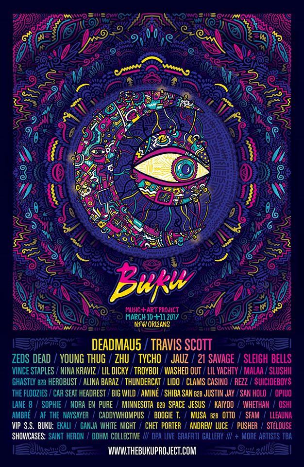 BUKU Music + Art Project 2017