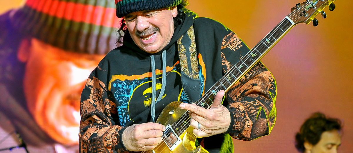 Santana Confirmed As First Artist Playing Woodstock 50th
